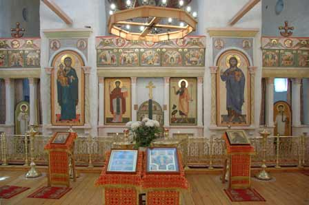 интерьер Собора Рождества Иоанна Предтечи