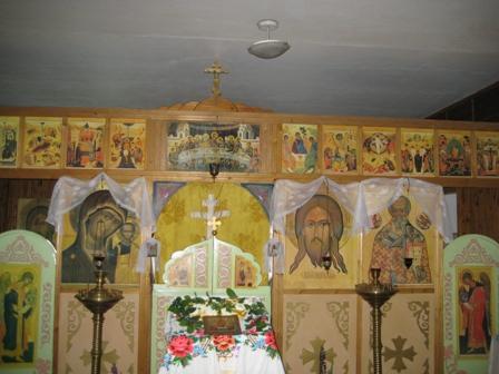 интерьер храма Святителя Николая
