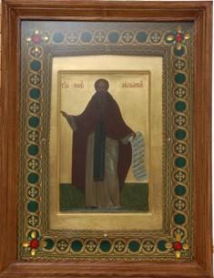 икона преподобного Иоанна Лествичника