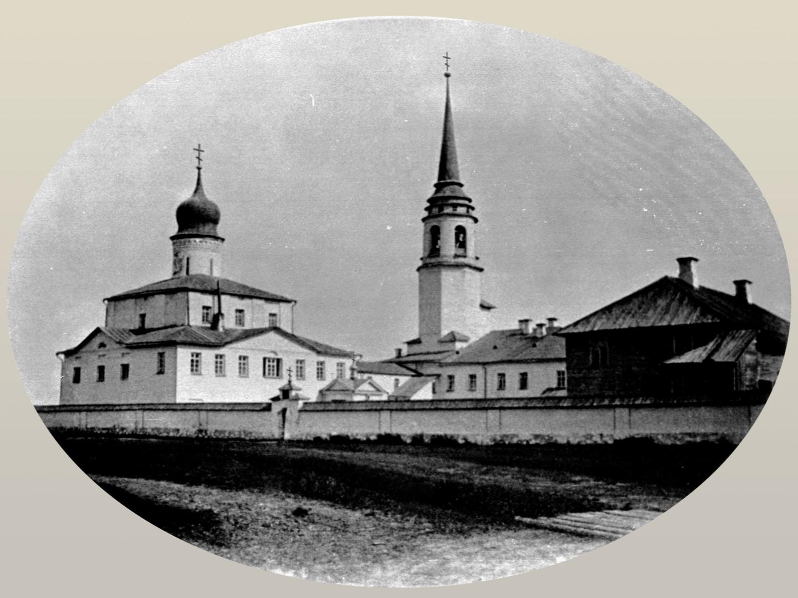 Крыпецкий монастырь в 1871 году